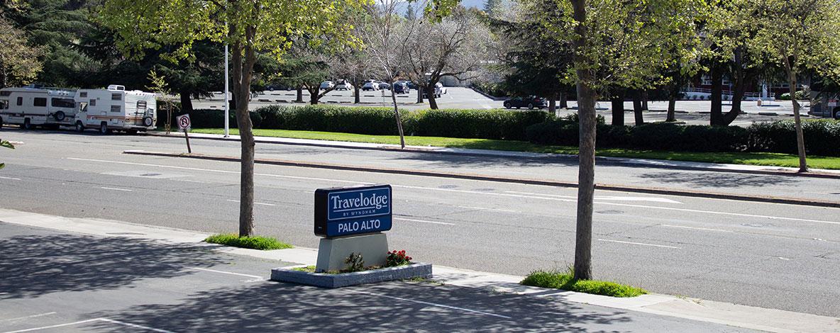 Location of Palo Alto, California Hotel